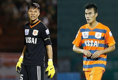Hai trụ cột của đội Ninh Bình không được sử dụng ở lượt trận V-League vừa qua. Ảnh: Đức Đồng.