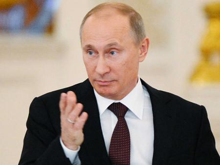 Tổng thống Nga Putin cho biết