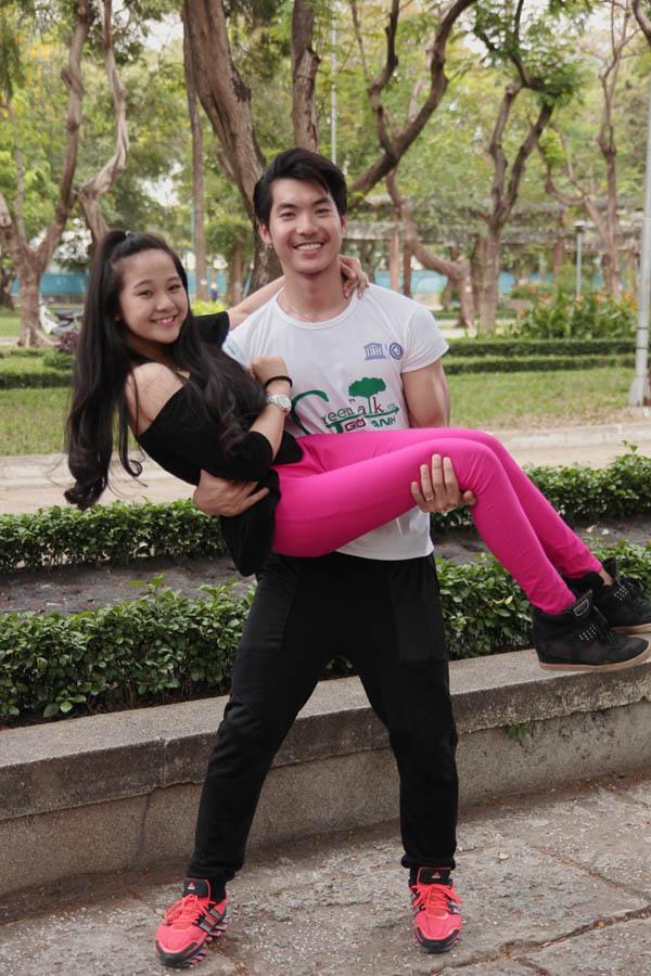 Trương Nam Thành và diễn viên Tam Triều Dâng