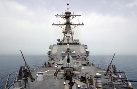 Khu trục hạm USS Donald Cook của Mỹ. Ảnh: Topwar