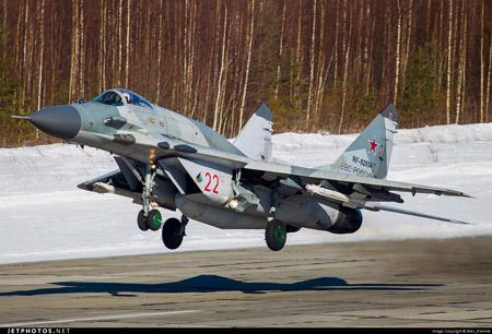 Tiêm kích MiG-29 SMT của Nga. Ảnh: Jetphotos.net