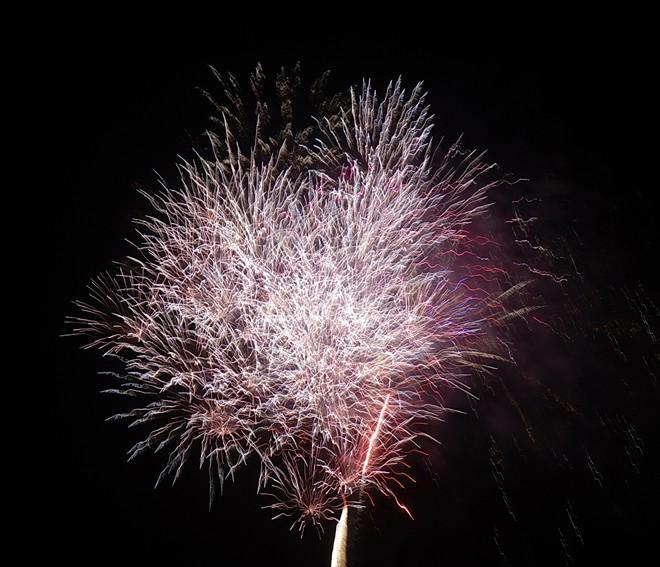 Bắn pháo hoa tại TP.HCM.