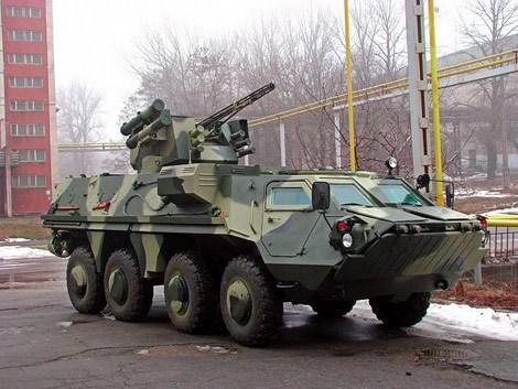 Trong năm 2014, Ukraine tiếp tục gặt hái được thành công trong lĩnh vực xe tăng - thiết giáp khi xuất khẩu 5 xe bọc thép BTR-4 cho Indonesia.