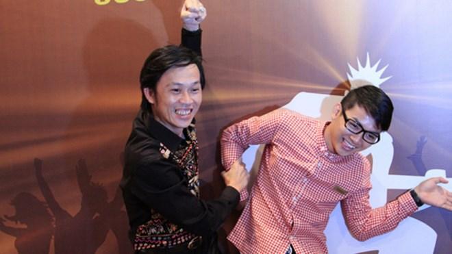 Hoài Linh và con trai Hoài Lâm