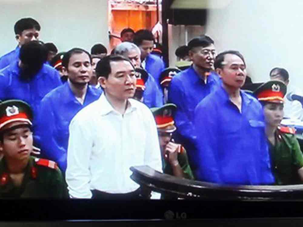 Dương Chí Dũng nói lời sau cùng trước tòa chiều 24.4.