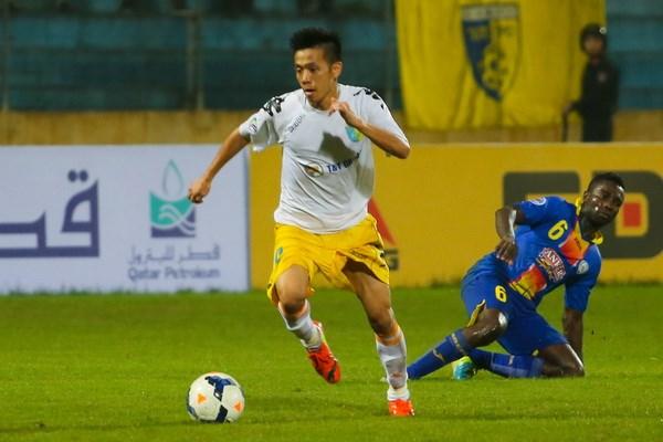 Văn Quyết là một trong những cầu thủ Việt Nam chơi ấn tượng nhất ở AFC Cup năm nay. (Ảnh: Minh Chiến/Vietnam+)
