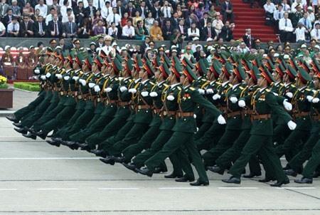 Các lực lượng trong quân đội nhân dân Việt Nam. Ảnh tư liệu, nguồn Internet.
