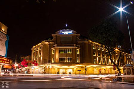 Trung tâm thương mại Tràng Tiền Plaza.