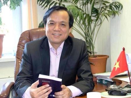 Ông Hoàng Văn Vinh- Chủ tịch Hội Người Việt ở Ekaterinburg (ảnh do nhân vật cung cấp)