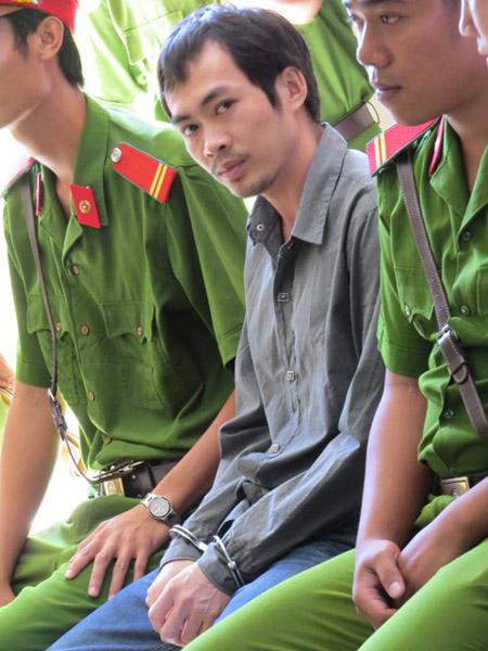 Bị cáo Nguyễn Thân Thảo Thành tại tòa