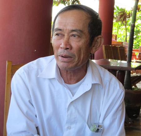 Ông Nguyễn Văn Thân (cha ruột bị cáo Thành)