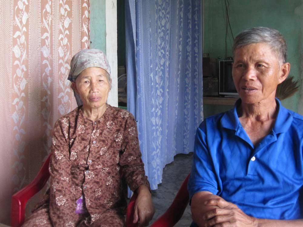 """Hai vợ chồng ông Chửng, bà Ánh với mối tình """"một đêm"""" bất tử."""