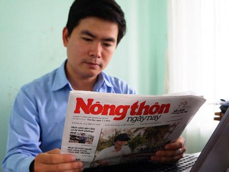 Anh Lê Quang Quỳnh và tờ báo NTNN đã trở nên thân thiết .