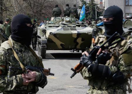 Nhóm dân quân thân Nga