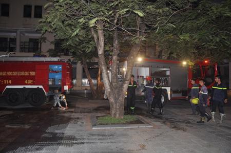 Vụ cháy tại trường Trần Phú