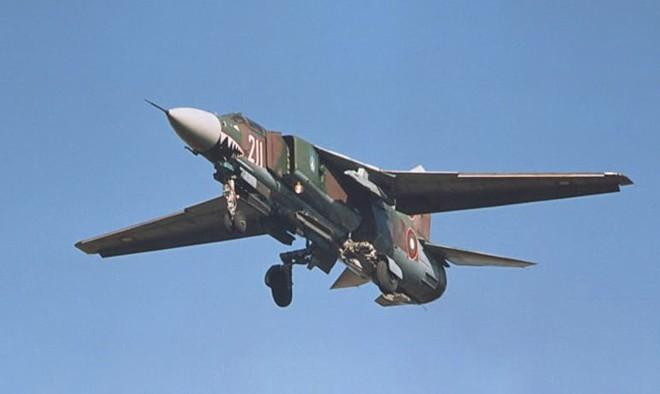 Phi cơ phản lực MiG-23. Ảnh: aerospaceweb.org