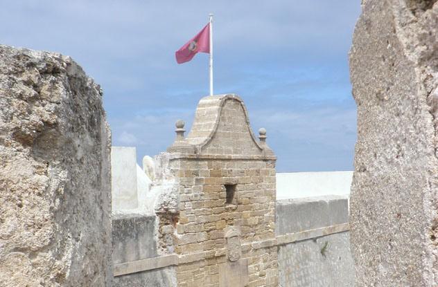 Một pháo đài ở thành phố Cadiz, Tây Ban Nha. Ảnh: blogspot.com