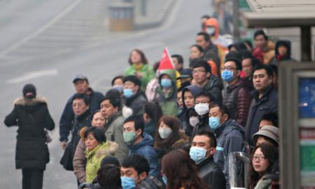 Người dân Trung Quốc đang đối mặt với tình trạng ô nhiễm trầm trọng