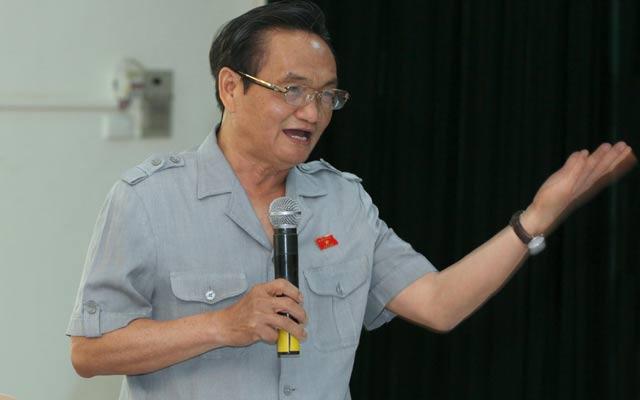 Đại biểu Trần Du Lịch cho rằng tăng tuổi nghỉ hưu sẽ tăng tình trạng thất nghiệp.