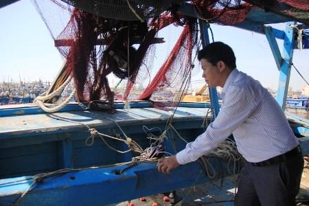 Ông Chánh cho biết, huyện đảo Hoàng Sa sẽ đề xuất để mua lại con tàu