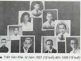 Hình ảnh của Giáo sư năm 10 đến 19 tuổi