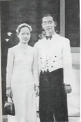 Hình cưới của giáo sư Trần Văn Khê và bà Nguyễn Thị Sương - 1943