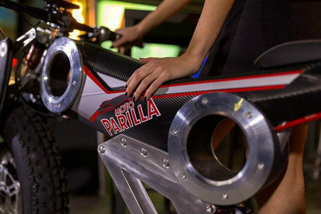 moto parilla carbon: xe dap dien the thao chinh phuc reo cao hinh anh 12