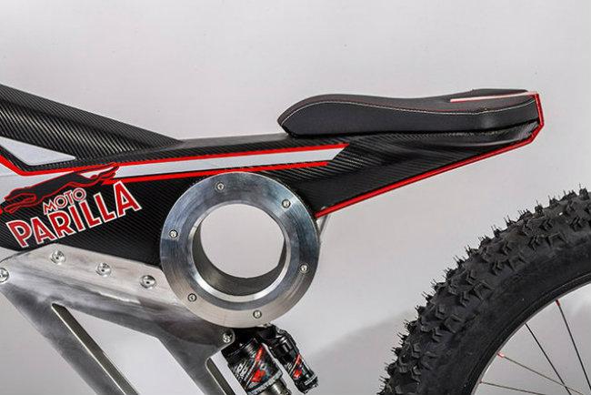 moto parilla carbon: xe dap dien the thao chinh phuc reo cao hinh anh 14