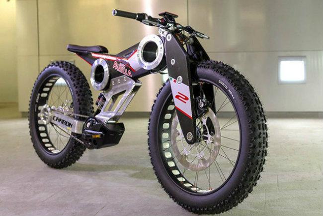 moto parilla carbon: xe dap dien the thao chinh phuc reo cao hinh anh 2