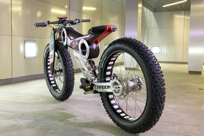 moto parilla carbon: xe dap dien the thao chinh phuc reo cao hinh anh 3