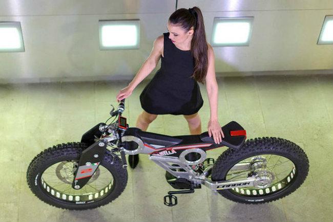 moto parilla carbon: xe dap dien the thao chinh phuc reo cao hinh anh 5