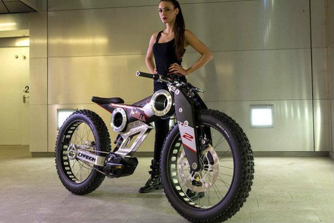moto parilla carbon: xe dap dien the thao chinh phuc reo cao hinh anh 6
