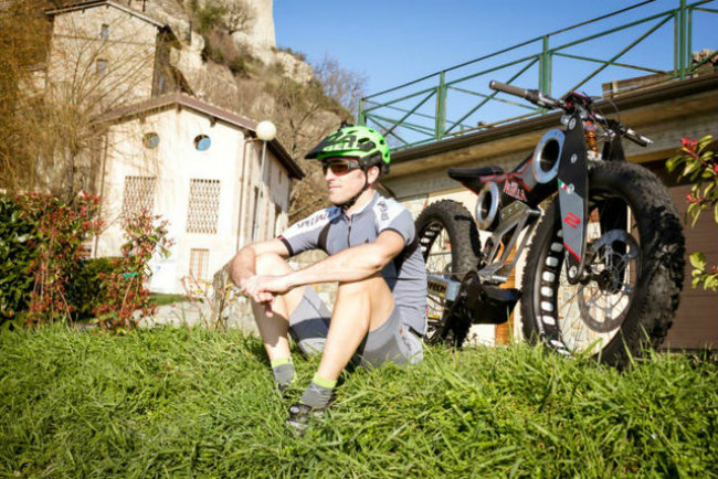 moto parilla carbon: xe dap dien the thao chinh phuc reo cao hinh anh 7