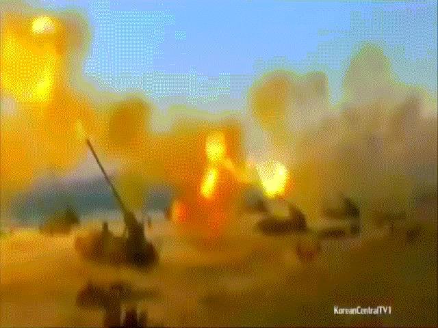 Sức mạnh như biển lửa của 15 vạn khẩu pháo Triều Tiên