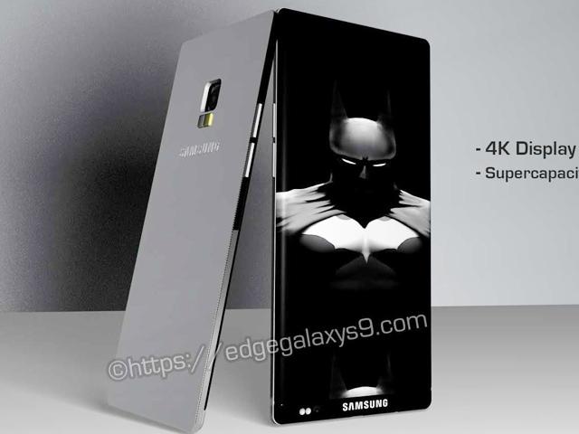 Samsung Galaxy S9 đẹp miễn chê, màn hình cong 3 cạnh