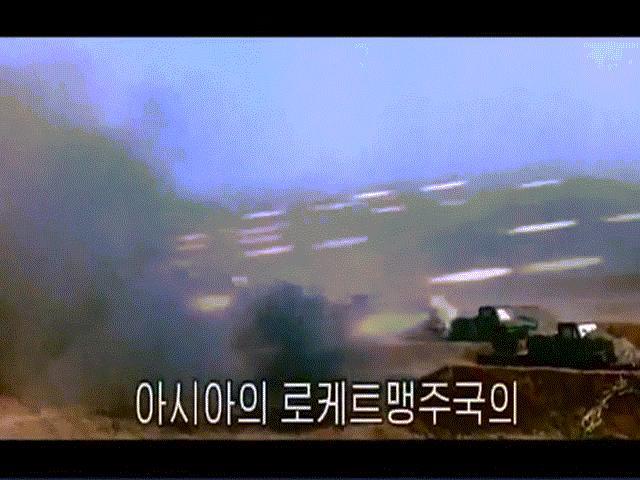 """Triều Tiên tung video dội """"biển lửa"""" vào Nhà Trắng"""