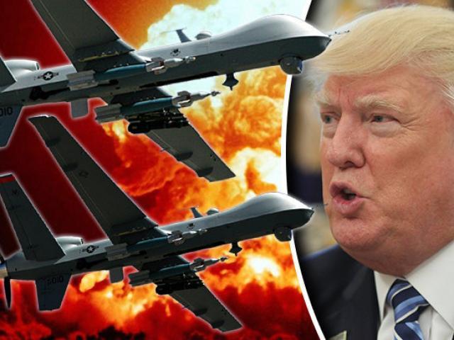 Dàn máy bay sát thủ của Trump nằm