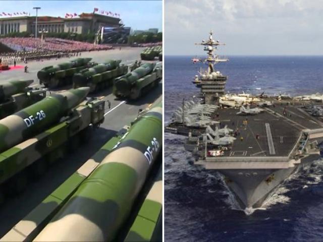"""TQ chĩa cả kho tên lửa, sẵn sàng """"quét sạch hạm đội Mỹ""""?"""