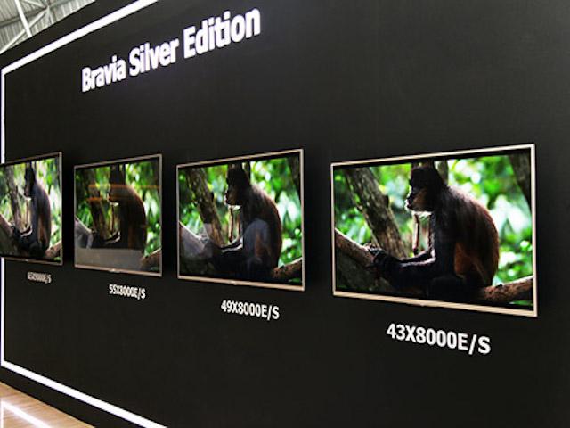 Sony trình làng loạt TV cho năm 2017, có TV OLED đầu tiên