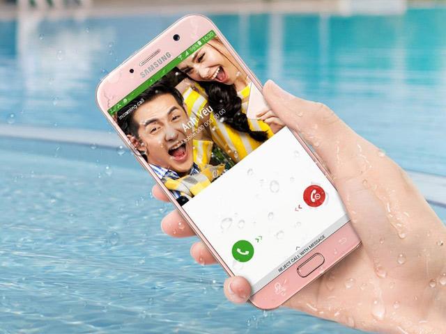 Galaxy A5 (2017) mở lối sáng tạo cho smartphone 8 triệu đồng