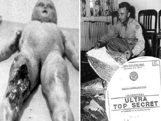 Bằng chứng người ngoài hành tinh đến Mỹ năm 1947?