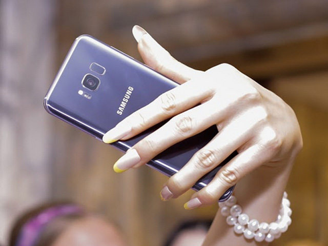 Lộ ảnh Samsung Galaxy S8+ màu Tím khói siêu đẹp