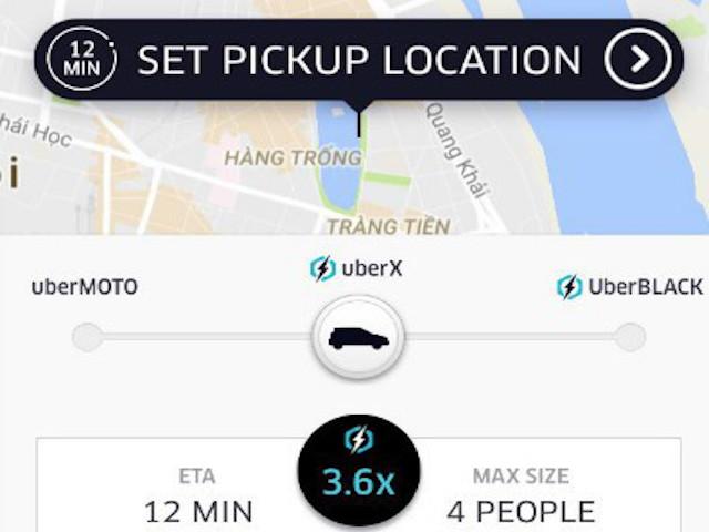 """""""Tuyệt chiêu"""" đi taxi Uber tiết kiệm khi trời mưa, đường ngập"""