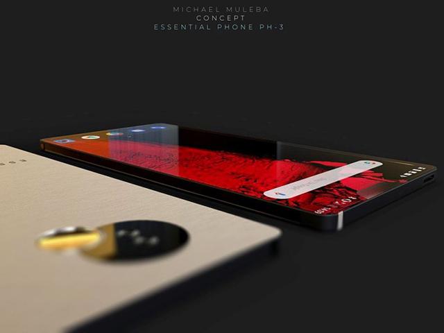 """Bản concept dành cho Essential Phone 3 """"đẹp như mơ"""""""
