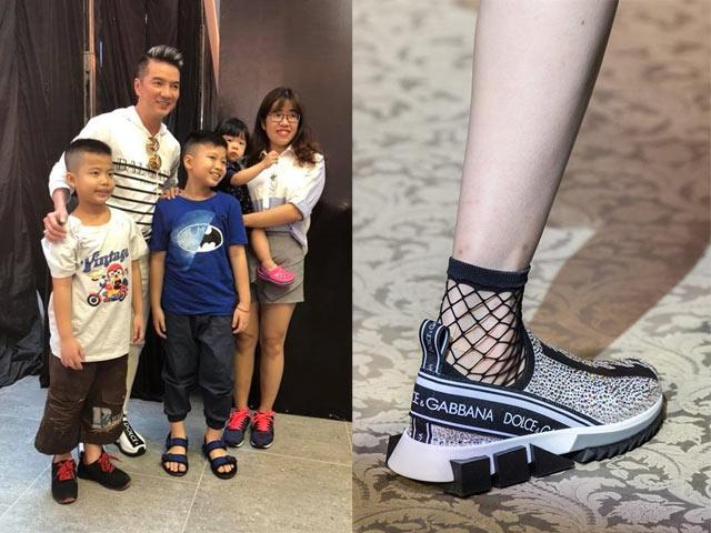 Đàm Vĩnh Hưng mê giày thể thao đắt đỏ 16 triệu đồng