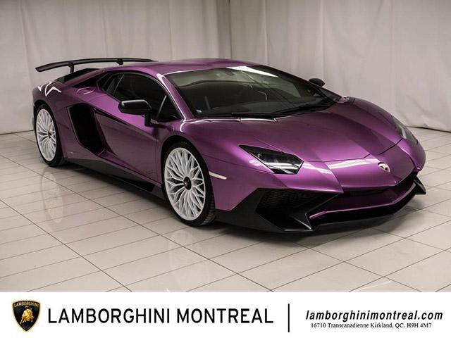 Lamborghini Aventador SV SE30Th đã qua sử dụng - Giá hơn 14 tỷ đồng