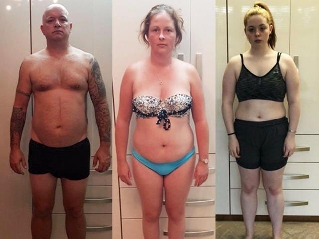 Gia đình nhà béo nô nức giảm cân và đây là kết quả khiến dân tình thích thú