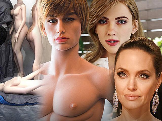 TQ: Sắp sản xuất hàng loạt robot tình dục giống sao Hollywood?