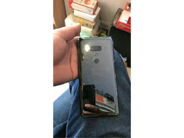 HTC U12+ rò rỉ với camera kép ở mặt trước và sau