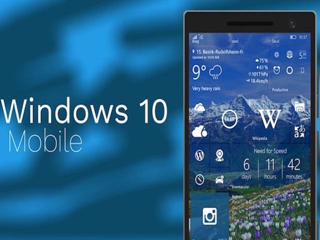Microsoft bất ngờ tung ra bản cập nhật cho Windows 10 Mobile?